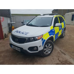 Kia Sorento Police Car - 2010