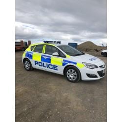 Vauxhall Astra - Police Car...