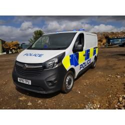 Vauxhall Vivaro Police Van...