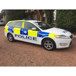 Ford Mondeo Police Car - 2010