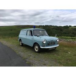 Morris Mini Mk 1 Police Van...