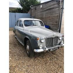 Rover P4 100 - 1961